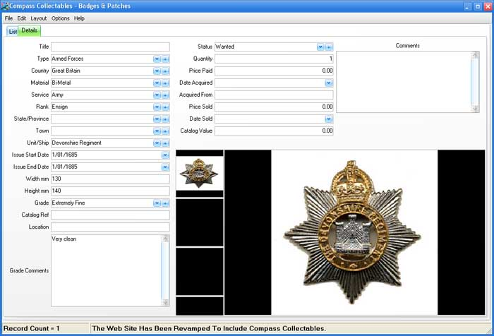 Form View Image for Badges & Patches