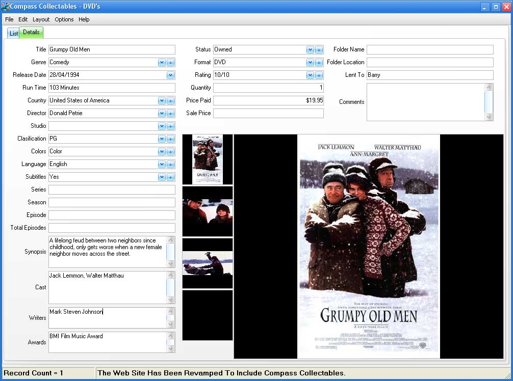Form View Image for  Movies