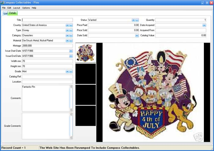 Form View Image for Pins